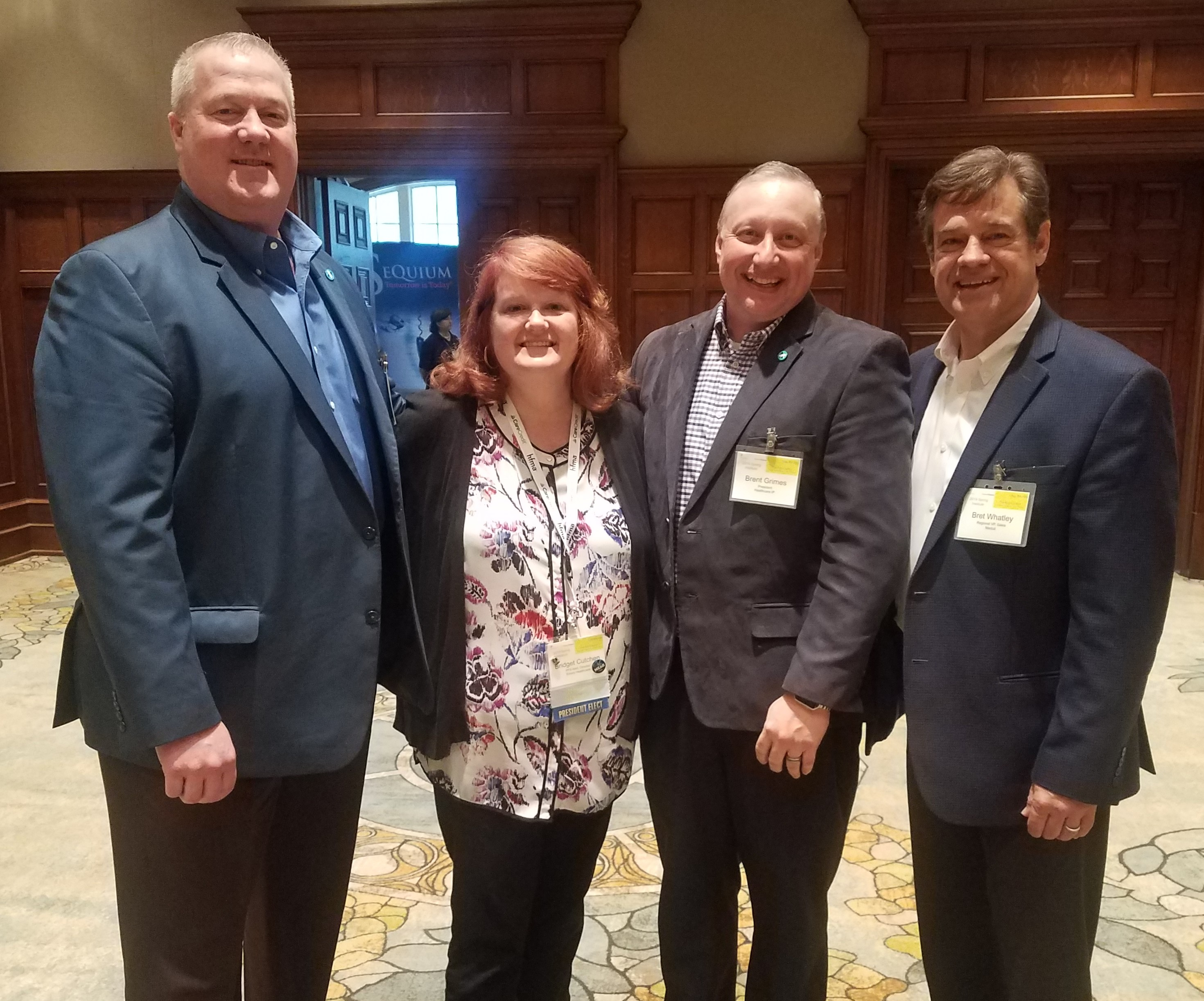 Jim Child Bridget Cutchen Brent Grimes Bret Whatley - GA HFMA Sping  2019